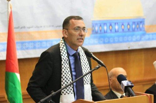 OIC's Representative in Palestine Ahmed Al-Ruwaidi [OIC/Twitter]