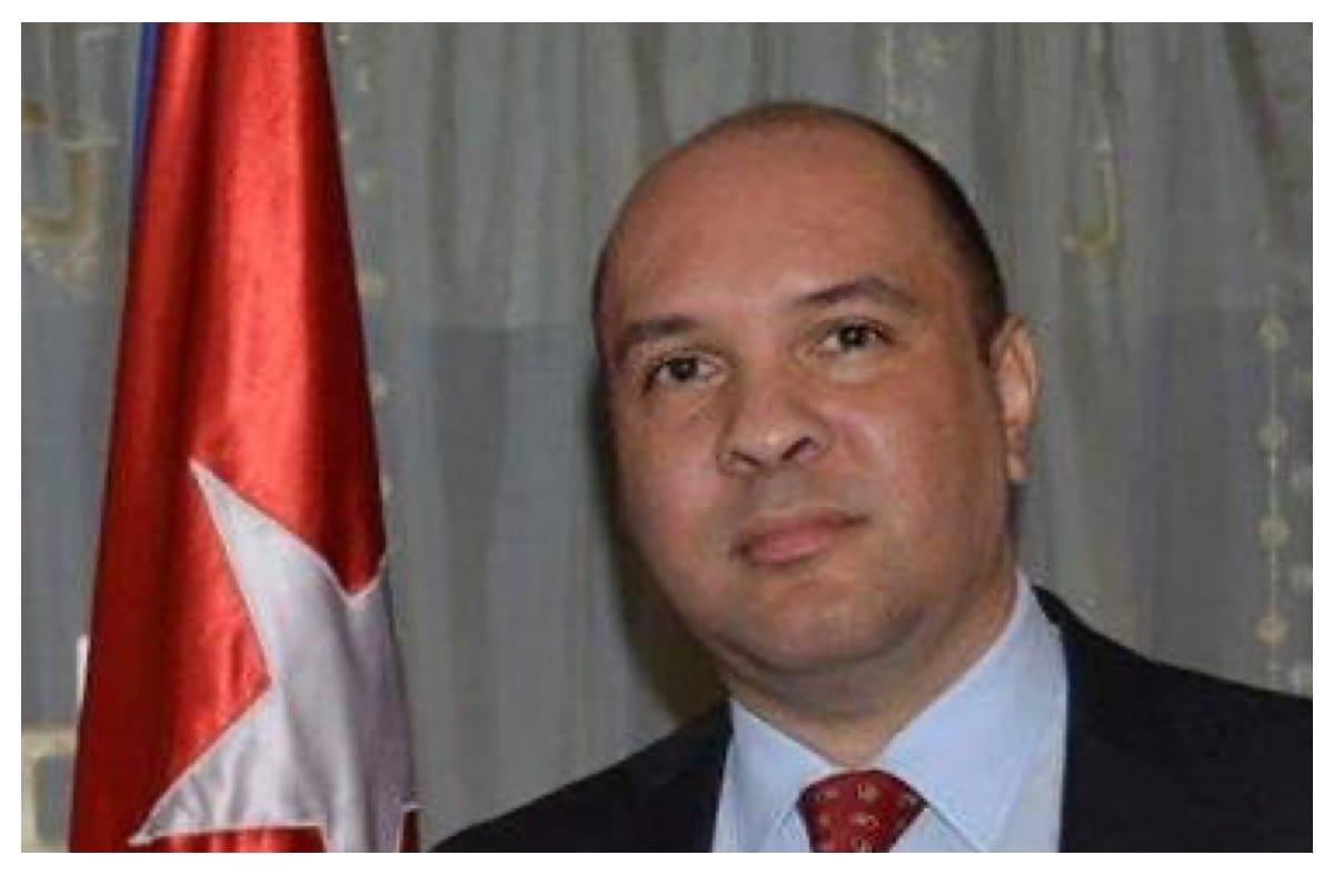 Cuba's Ambassador to Lebanon Alexander Moraga [Twitter]