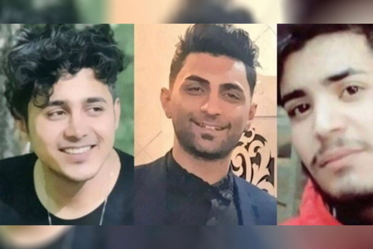 Amirhossein Moradi, Mohammad Rajabi and Saeed Tamjidi have been sentenced to death by the Iranian Supreme Court for participating in the country's anti-government demonstrations