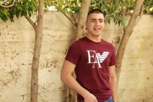 Blind Palestinian student Mohamed Qattoush