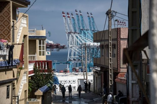 A view of the Moroccan port of Tanger Med, on 14 March, 2020, in the northern city of Tangiers [FADEL SENNA/AFP via Getty Images]