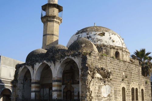 The Omari Mosque in Tiberias, built by Zahir [Wikipedia]