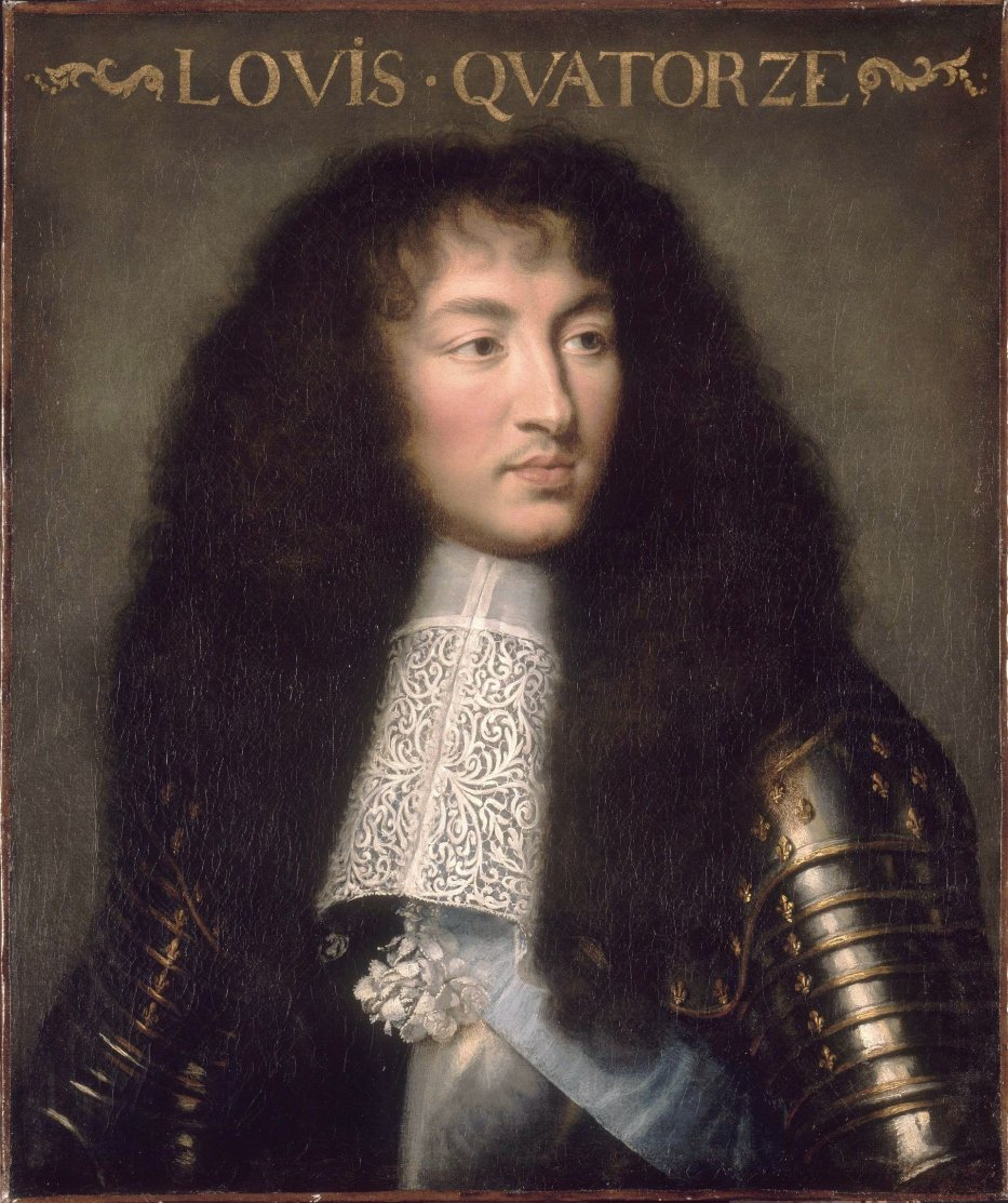 Louis XIV, King of France, in 1661 [Wikipedia]