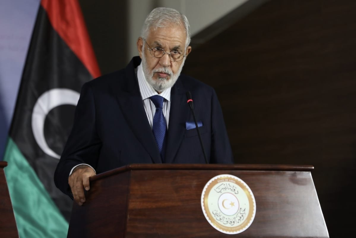 Libyan Foreign Minister of UN-recognised Government of National Accord (GNA) Mohamed Siala in Tripoli, Libya on 17 August 2020 [Hazem Turkia/Anadolu Agency]
