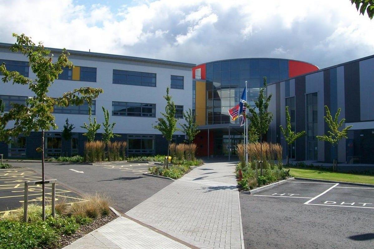 Belmont Academy in Ayr Scotland, 28 June 2019 [Belmont_DT/Twitter]