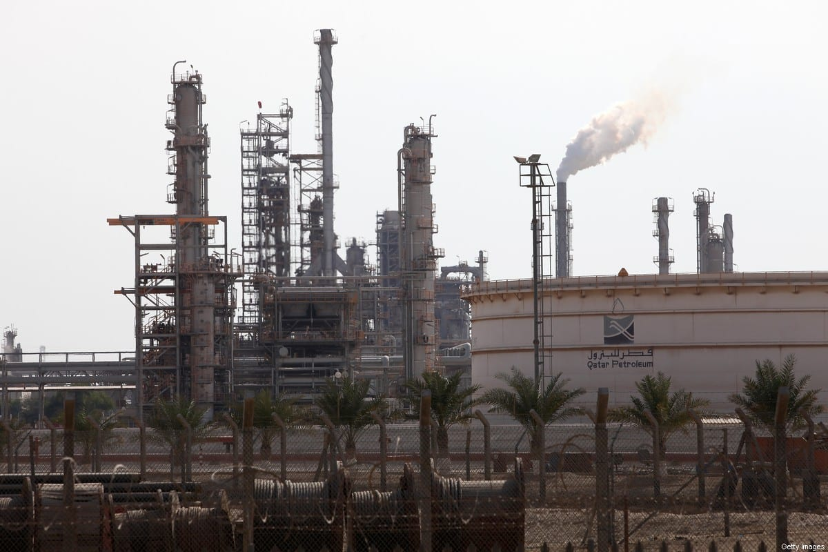 View of Qatar Petroleum (QP), a state-owned corporation responsible for all phases of the oil and gas industry in Qatar on 29 December 2010 [Nadine Rupp/Getty Images]