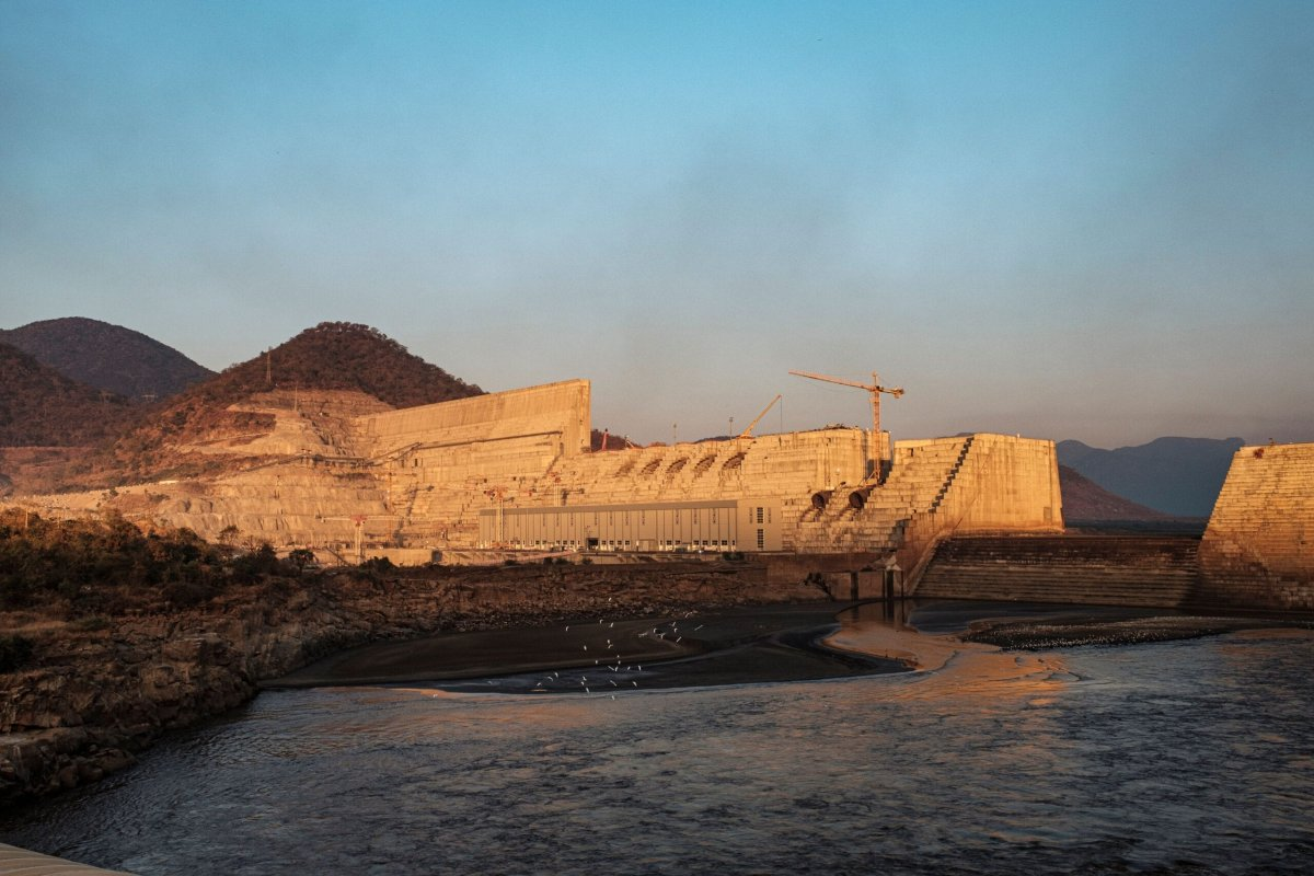 A general view of the the Grand Ethiopian Renaissance Dam (GERD), near Guba in Ethiopia, on December 26, 2019 [EDUARDO SOTERAS/AFP via Getty Images]