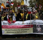 The regime is determined to rewrite history. Egyptians are giving their lives to prevent it