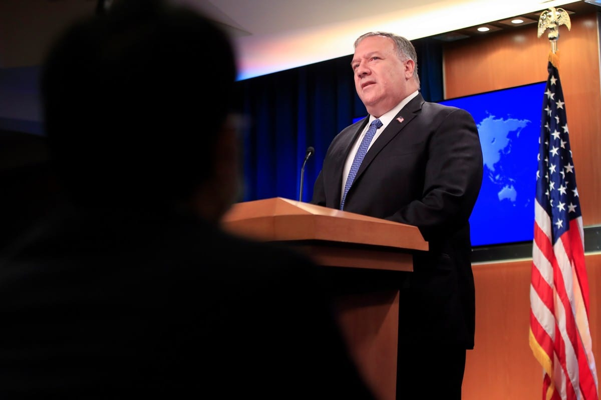 Pompeo: US to call UN vote on Iran arms embargo extension