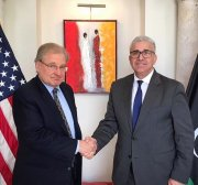 US envoy discusses solution to Libya crisis with Turkish