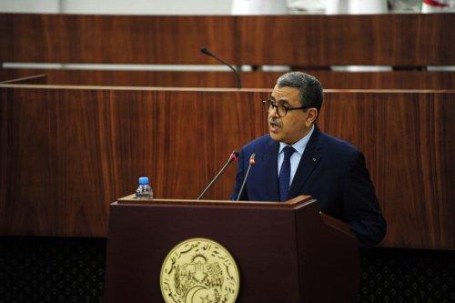 Prime Minister of Algeria Abdelaziz Djerad in Algiers, Algeria on 10 September 2020 [Mousaab Rouibi/Anadolu Agency]