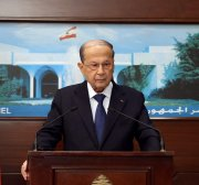 Lebanon's President Aoun says corruption is rooted in power