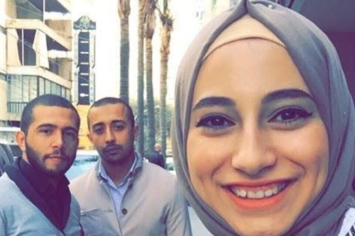 Palestinian woman Yasmin Jaber was arrested by the Israeli occupation forces on 4 August and was investigated for 40 days. She still denies the Israeli accusations [@ZeevBA/Twitter]