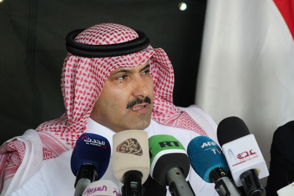 Saudi ambassador to Yemen Mohammed Said Al-Jaber in Saudi Arabia on 29 October 2018 [SALEH AL-OBEIDI/AFP via Getty Images]