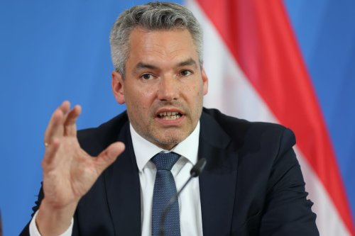 Minister of the Interior of Austria Karl Nehammer in Berlin, Germany, 24 June 2020 [Getty]