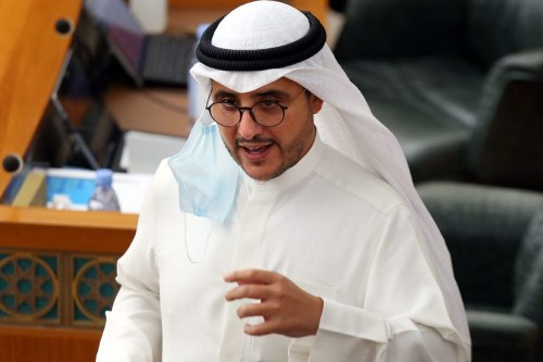 Kuwaiti Foreign Minister Sheikh Ahmad Nasser Al-Sabah in Kuwait City on 18 August 2020 [YASSER AL-ZAYYAT/AFP/Getty Images]
