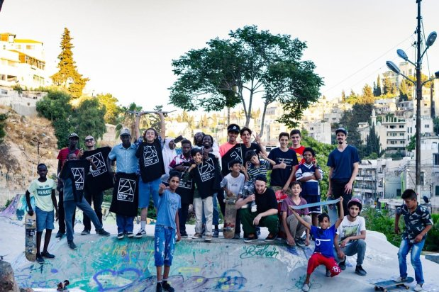 7Hills, an NGO in Jordan is using skateboarding to bring refugee communities together, 11 September [7Hills]