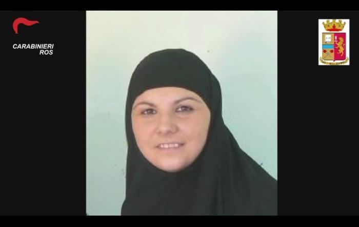 Alice Brignoli was married to Mohamed Koraichi, an Italian Daesh fighter [ANSA/CARABINIERI]