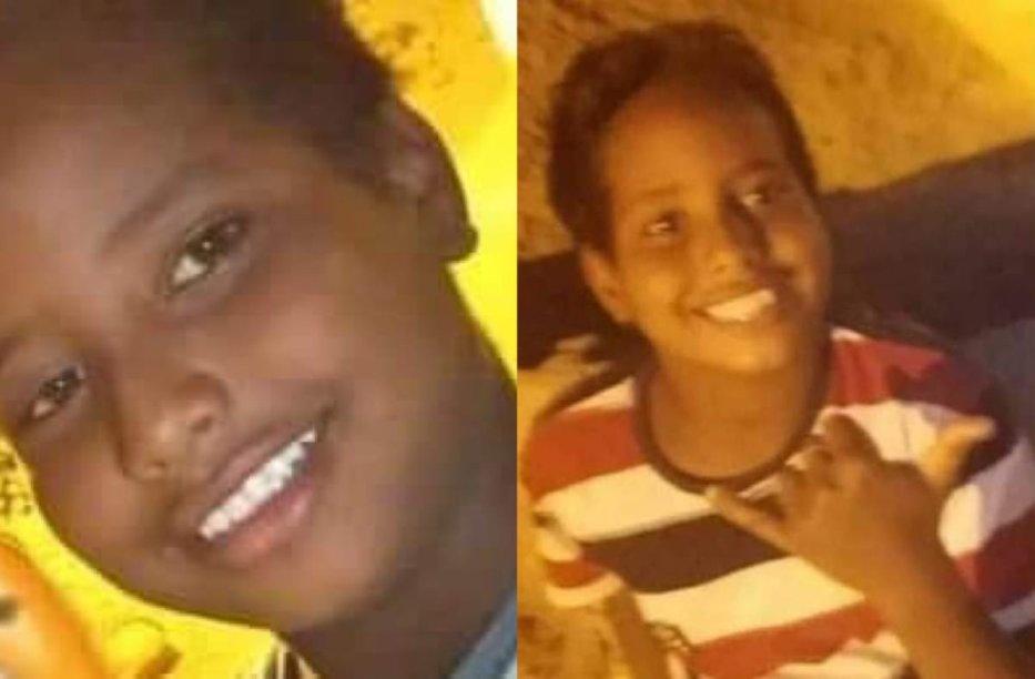 Nubian boys from Aswan, Yahya Khairy Abdel Qader and Muhamad Ahmad [Gehadashraf007/Twitter]