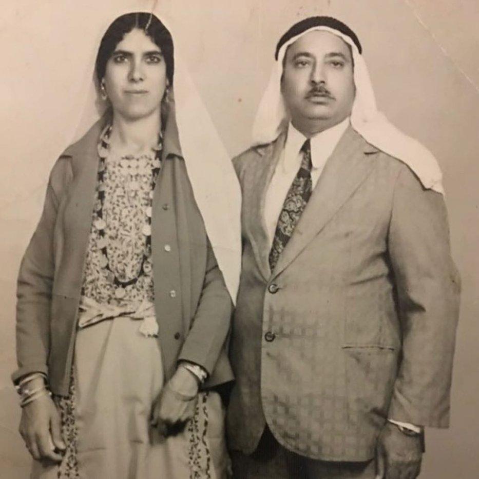 Fatima Hussein's parents (Photo: Fatima Hussein for Middle East Monitor)