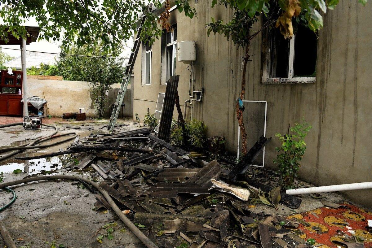 Armenian forces continue shelling Azerbaijani villages