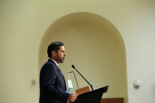 Iranian Foreign Ministry Spokesman Saeed Khatibzadeh in Tehran, Iran on October 5, 2020 [Fatemeh Bahrami/Anadolu Agency]
