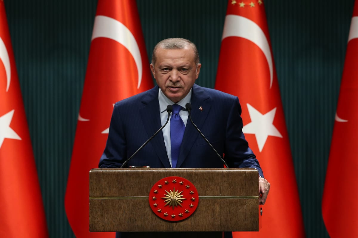 Turkey's Erdogan: Russia does not support stability in Syria