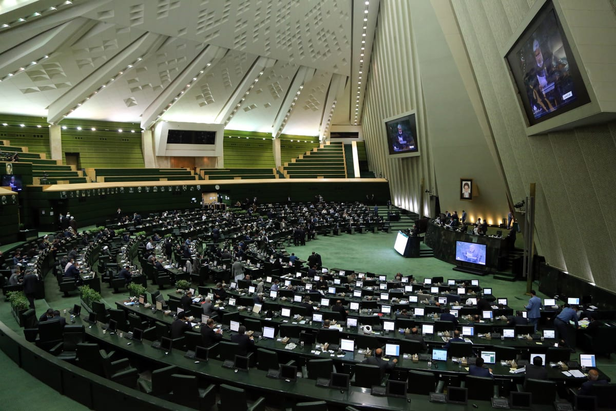A general view of Parliamentary session in Tehran, Iran on October 22, 2020. [Fatemeh Bahrami - Anadolu Agency]