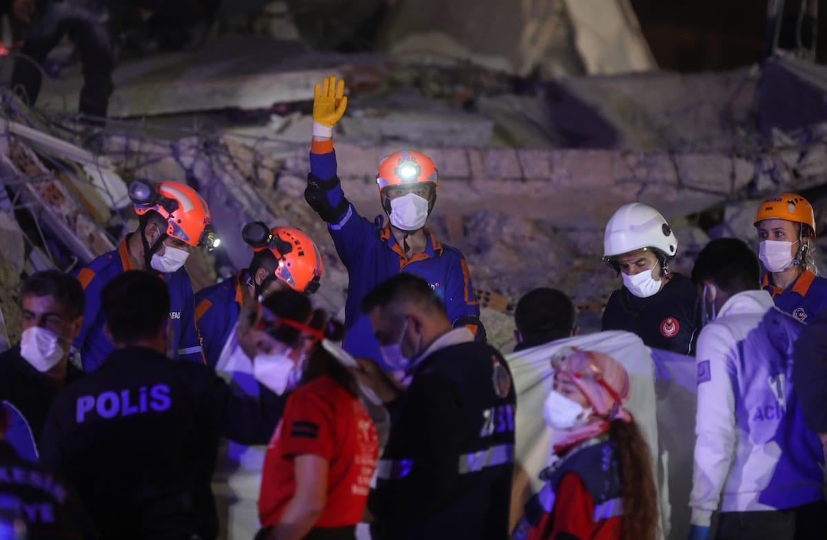 Death toll reaches 27 in quake that hit Turkey, Greek island