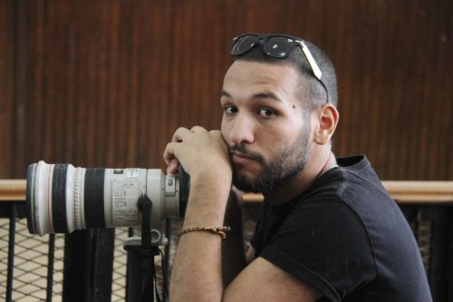 Photojournalist Mohamed El Raai [Monasosh/Twitter]