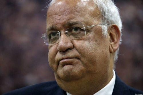 Saeb Erekat, Secretary-General of the Palestine Liberation Organisation and chief Palestinian negotiator [ABBAS MOMANI/AFP via Getty Images]