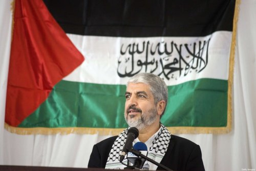 Former leader of Hamas, Khaled Meshaalin in Cape Town, South Africa on 21 October 2015 [RODGER BOSCH/AFP/Getty Images]