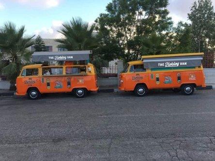 Hotdog Vans in Ramallah, Palestine [Instagram]