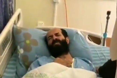 Palestinian prisonerMaher Al-Akhras, 8 October 2020