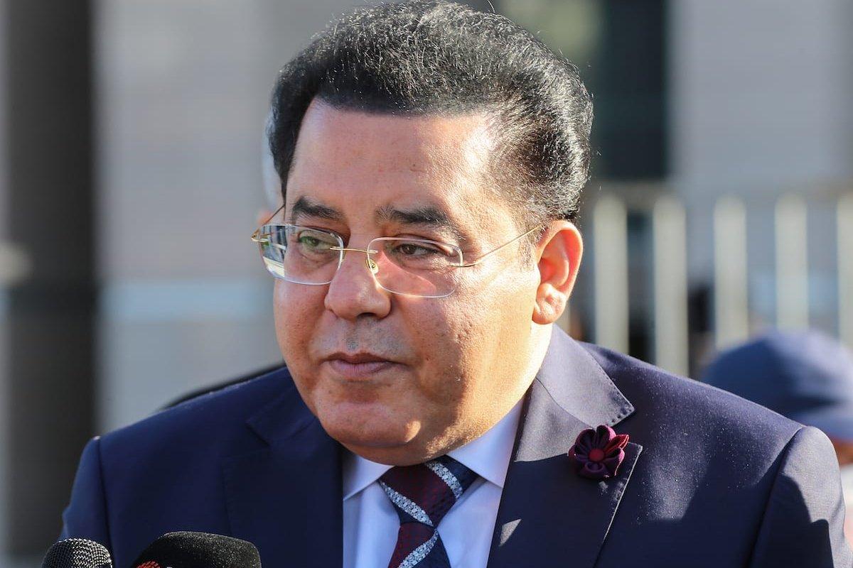 Prominent Egyptian opposition figure based in Istanbul Ayman Nour on 24 November 2020 [Esra Bilgin/Anadolu Agency]