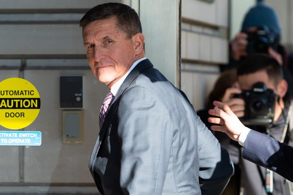 Former US National Security Advisor General Michael Flynn in Washington, DC on 18 December 2018 [SAUL LOEB/AFP/Getty Images]