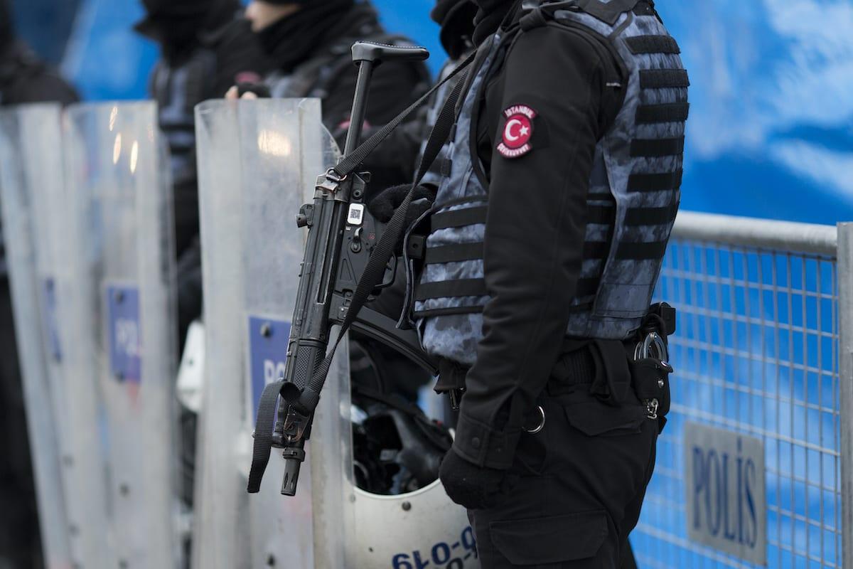 Turkish Police on January 1, 2017 in Istanbul, Turkey. [Kenzo Tribouillard/IP3/Getty Images]