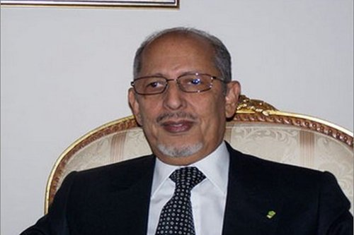 Mauritania's former President Sidi Mohamed Ould Cheikh Abdallahi, 27 March 2017