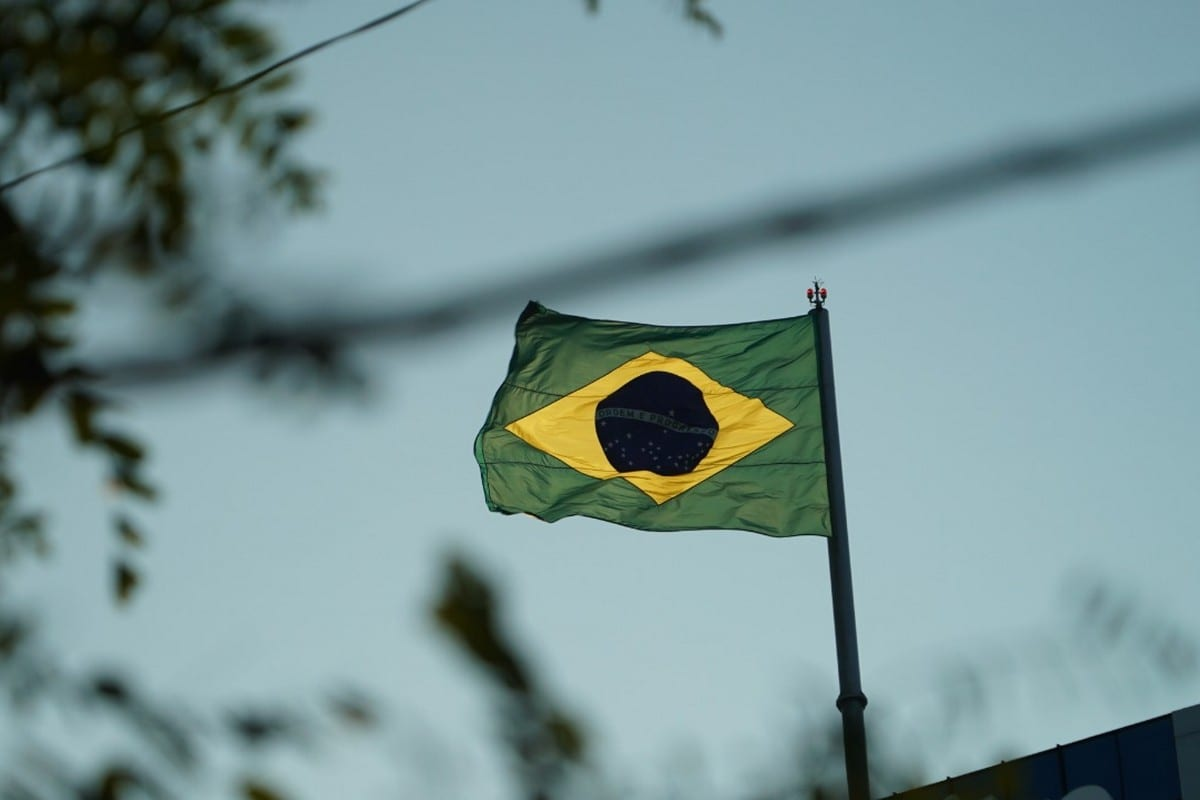 Flag of Brazil, August 2020 ( photo by Eman Abusidu)
