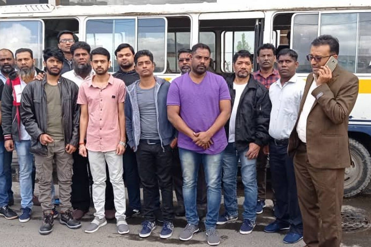 After being detained in Sanaa since February, 14 Indian nationals have been set free