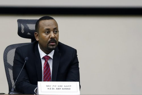 Prime Minister of Ethiopia, Abiy Ahmed in Addis Ababa, Ethiopia on 30 November 2020 [Minasse Wondimu Hailu/Anadolu Agency]