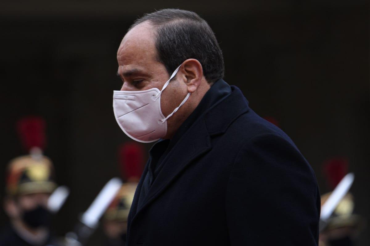 President of Egypt, Abdel Fattah Al-Sisi in Paris, France on December 07, 2020 [Julien Mattia/Anadolu Agency]