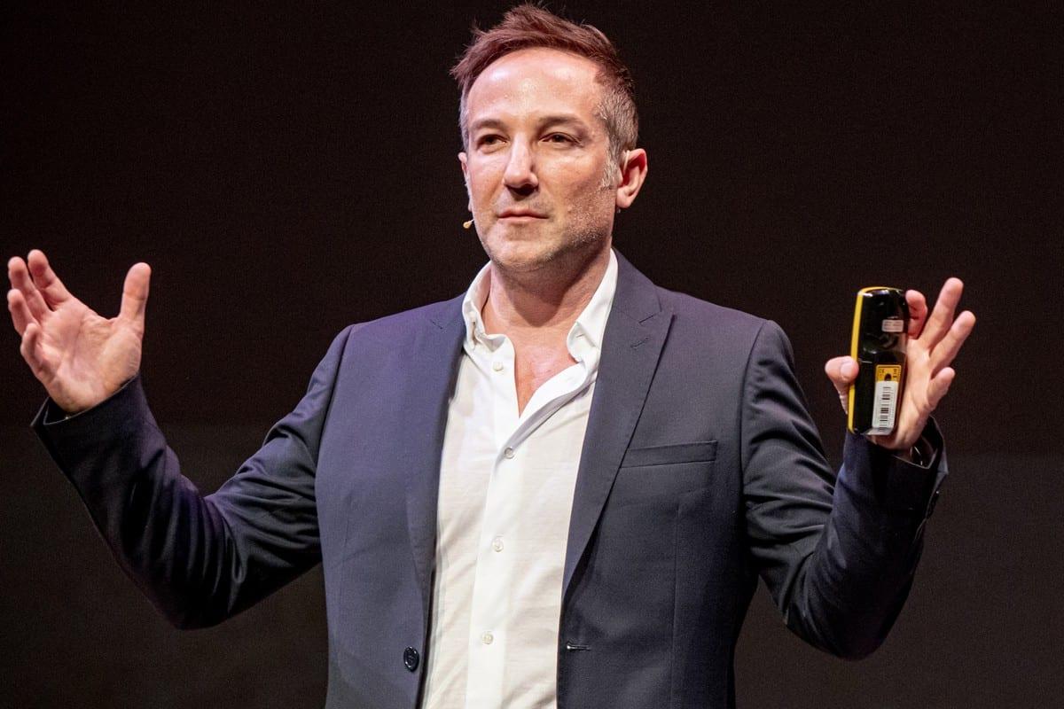 Academy Award winning filmmaker Bryan Fogel in Oslo, Norway on 28 May 2019 [Julia Reinhart/Getty Images]