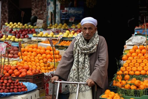 Fruit stall in Cairo, Egypt on 24 January 2012 [Jeff J Mitchell/Getty Images]