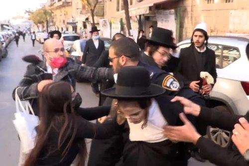 Orthodox Jews protest against Zionism in Jerusalem