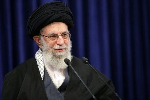 Iranian Supreme Leader Ali Khamene in Tehran, Iran on January 08, 2021 [Iranian Leader Press Office/Anadolu Agency]