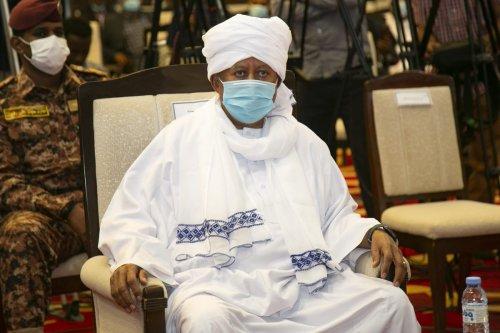 Prime minister of Sudan Abdalla Hamdok in Khartoum, Sudan on 16 January 2021 [Mahmoud Hjaj/Anadolu Agency]