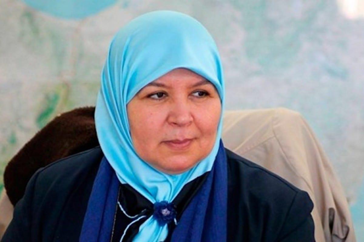 Tunisia's Ennahda representative Meherzia Labidi, 22 January 2021 [arabi21]
