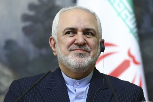 Iranian Foreign Minister Javad Zarif in Moscow, Russia on January 26, 2021 [Russian Foreign Ministry/Handout - Anadolu Agency]