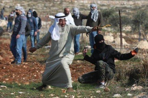 Palestinian elder Said Arma in the West Bank, 9 January 2021 [Anadolu Agency]